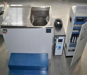 Máquina de revestimento semiautomática DSB D650 do floco do zinco